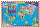 Eeboo 100 Piece Puzzle - World Map